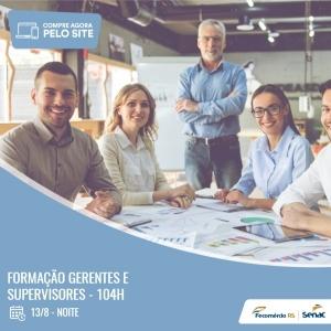 Formação Gerentes e Supervisores