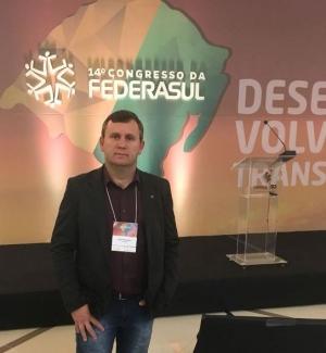 Presidente da CACIS participou de Congresso da FEDERASUL em Gramado