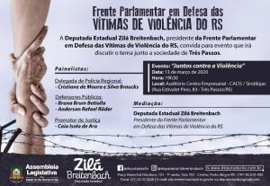 """CACIS apoia evento """"Juntos contra a Violência"""""""