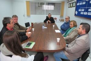 Diretoria da CACIS se reúne com Deputada Zilá